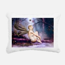 moonbathingshoulderb Rectangular Canvas Pillow