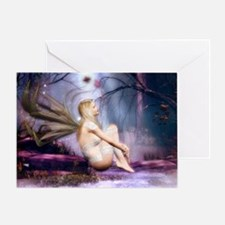 moonbathingshoulderb Greeting Card