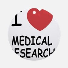 MEDICAL_RESEARCH Round Ornament