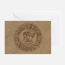 mayan-calendar_br_12x18h Greeting Card