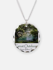 Madison Blue Spring Necklace