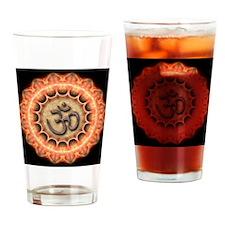 ORANGE OHM Drinking Glass