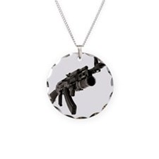 AK47-w-Rocket-Launcher-psd30 Necklace