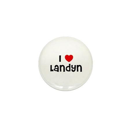 I * Landyn Mini Button (10 pack)