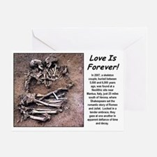 Love is Foever 2 Greeting Card