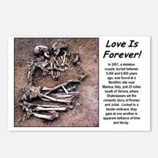 Love is Foever 2 Postcards (Package of 8)
