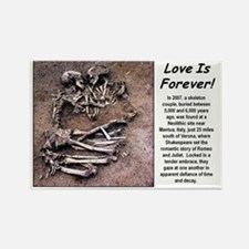 Love is Foever 2 Rectangle Magnet