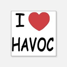 "HAVOC Square Sticker 3"" x 3"""
