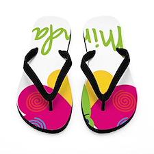 Miranda-the-butterfly Flip Flops