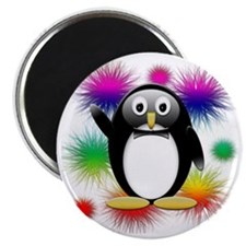 Penguin splash png Magnet