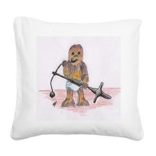 babychewie Square Canvas Pillow