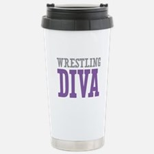 Wrestling DIVA Stainless Steel Travel Mug