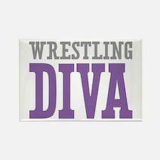 Wrestling DIVA Rectangle Magnet