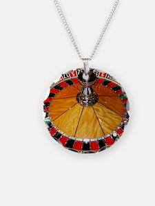 Casino roulette wheel Las Ve Necklace
