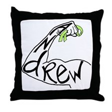 andrewribbon Throw Pillow