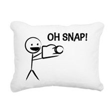 Oh Snap! Rectangular Canvas Pillow