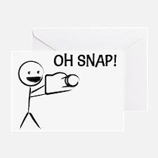 Oh Snap! Greeting Card