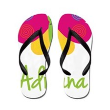 Adriana-the-butterfly Flip Flops