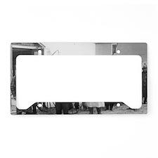 CafePress_3 License Plate Holder