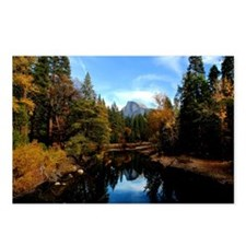Half Dome In Fall Postcards (Package of 8)