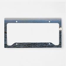 jkpolk ssbn lare framed print License Plate Holder