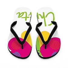 Christa-the-butterfly Flip Flops