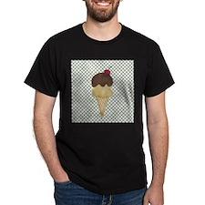Double Scoop Ice Cream Cone T-Shirt