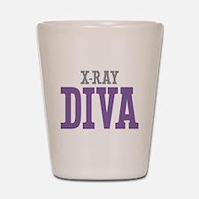 X-Ray DIVA Shot Glass