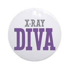 X-Ray DIVA Ornament (Round)