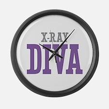 X-Ray DIVA Large Wall Clock