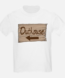 Vintage Outhouse Sign T-Shirt