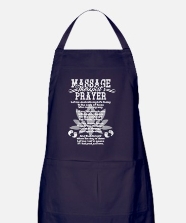 Cute Massages Apron (dark)