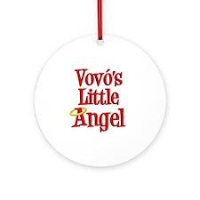 Vovos Little Angel Round Ornament