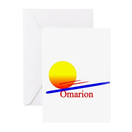 Omarion Greeting Cards (Pk of 10)