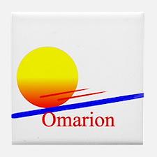 Omarion Tile Coaster