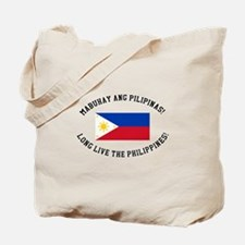 Long Live The Philippines! Tote Bag