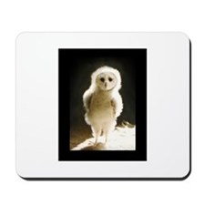 Wesley The Owl Mousepad