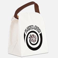 twisted gypsy Canvas Lunch Bag
