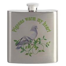 pigeons Flask