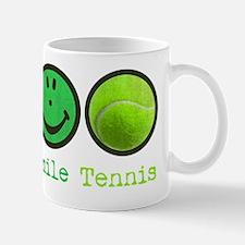 peace_smile_tennis Mug