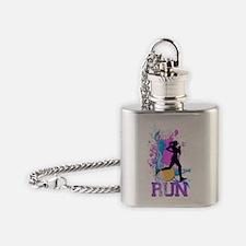 GirlRunDecorative Flask Necklace