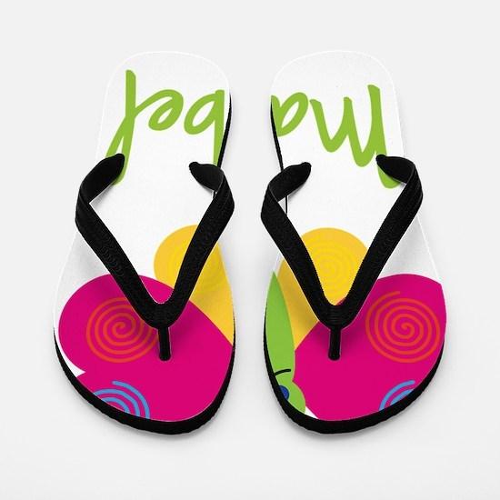 Maribel-the-butterfly Flip Flops