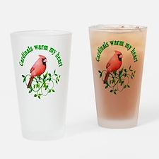 cardinals Drinking Glass