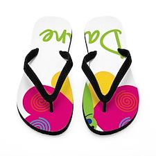 Daphne-the-butterfly Flip Flops