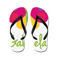 Gabriela-the-butterfly Flip Flops