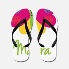Mayra-the-butterfly Flip Flops