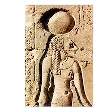 Sekhmet at Esna-shorter Postcards (Package of 8)