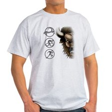 buffalo head glass T-Shirt