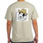 Cowboy Poppy Ash Grey T-Shirt