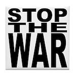 Stop The War Tile Coaster